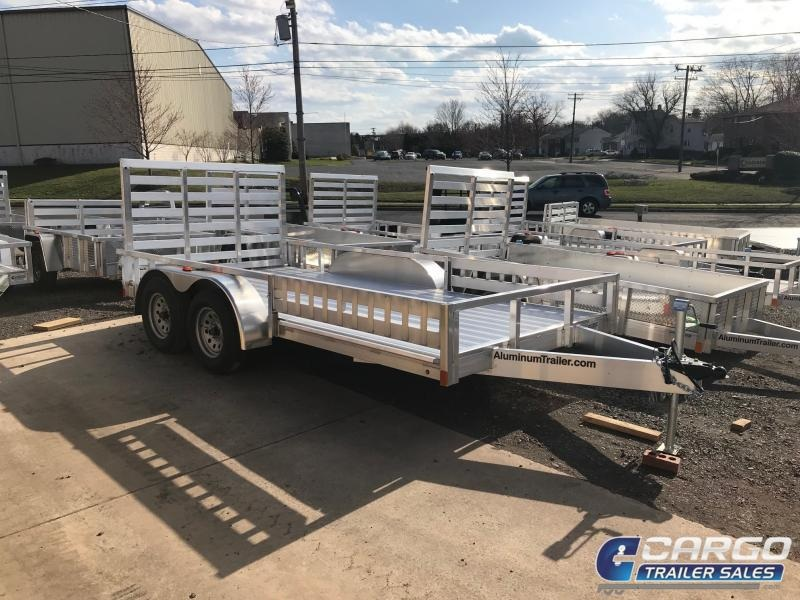 2019 Aluminum Trailer Company OUTAB7016+0-2T3.5K Utility Trailer