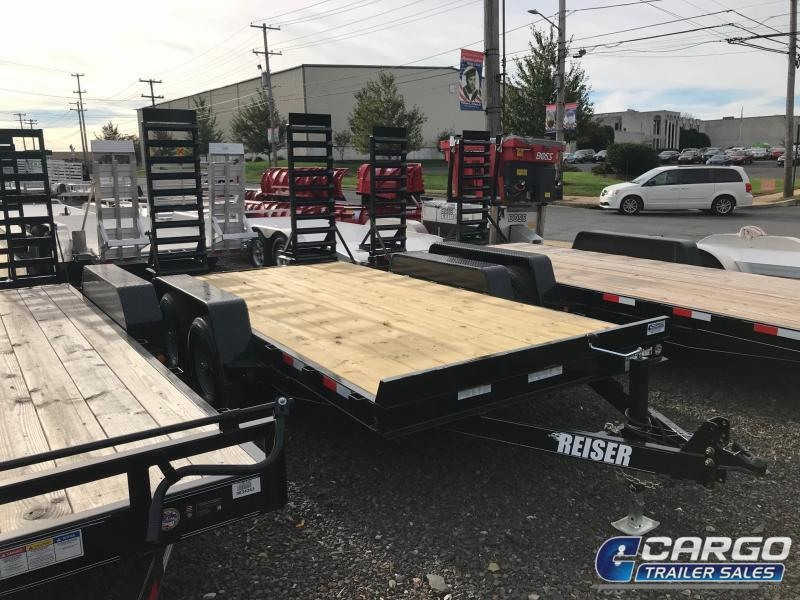 2017 Reiser Trailers ET14 Flatbed Trailer