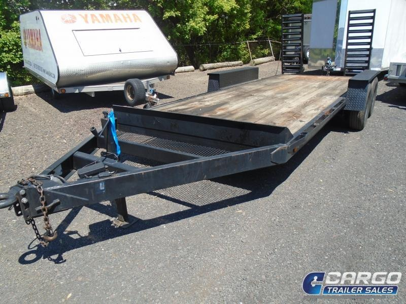 2000 PEQUEA 18 10K EQ Equipment Trailer