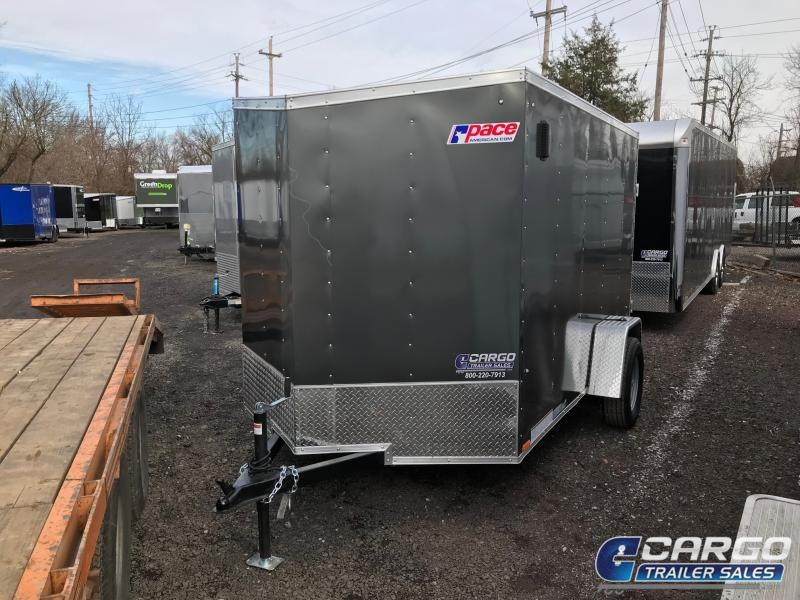 2020 Pace American OB 6X12+2 Enclosed Cargo Trailer