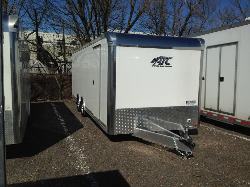 2018 Aluminum Trailer Company QSTAB824 Enclosed Cargo Trailer