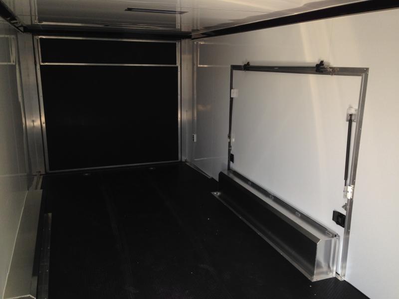 2018 Aluminum Trailer Company QSTAB824 Enclosed Cargo Trailer