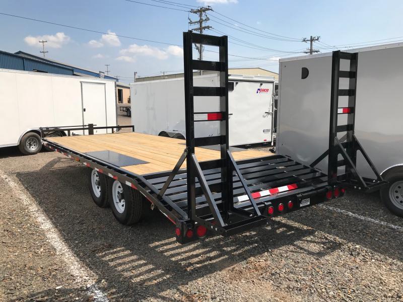 2019 PJ Trailers F8 DO Equipment Flatbed Trailer