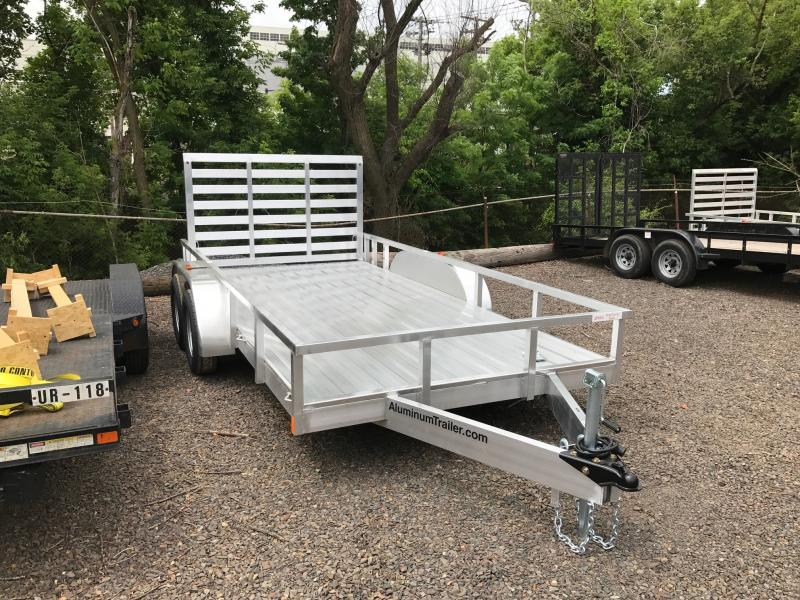 2019 Aluminum Trailer Company OUTAB7014+0-2T3.5K Utility Trailer