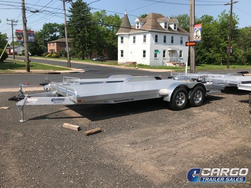 2019 Aluminum Trailer Company OCHAB8518+0-2S3.5K Flatbed Trailer