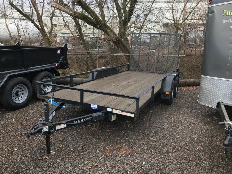 2012 Mustang 6 X 16 Landscape Utility Trailer