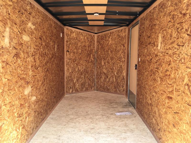 2020 Pace American OB 6X12S12DLX Enclosed Cargo Trailer