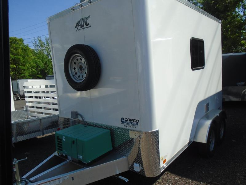 2019 Aluminum Trailer Company QSTAB712+0 Enclosed Cargo Trailer