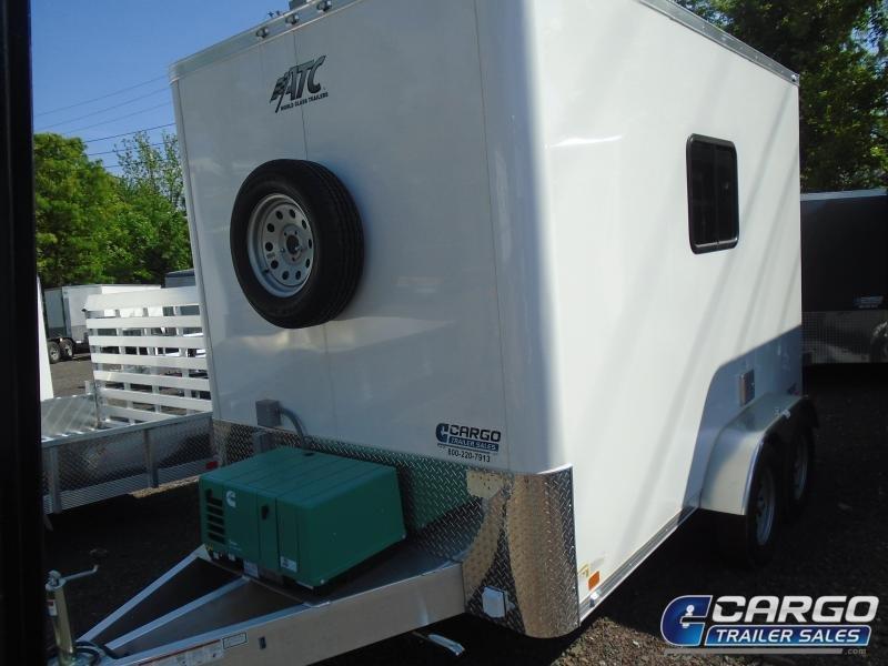 2019 Aluminum Trailer Company QSTAB712+0 Enclosed Cargo Trailer