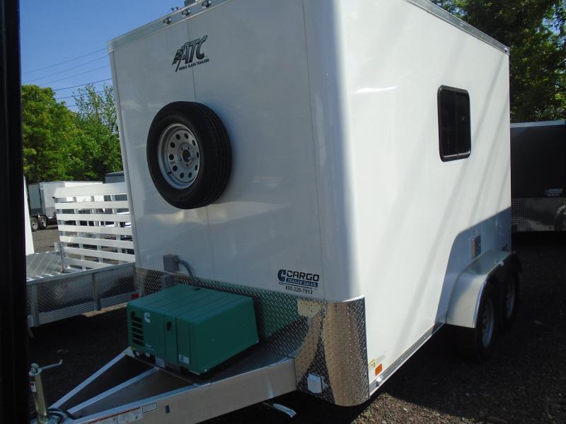 2019 Aluminum Trailer Company QSTAB712+0 Enclosed Cargo Trailer in Ashburn, VA