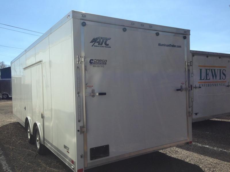 2018 Aluminum Trailer Company QSTAB8524 Car / Racing Trailer
