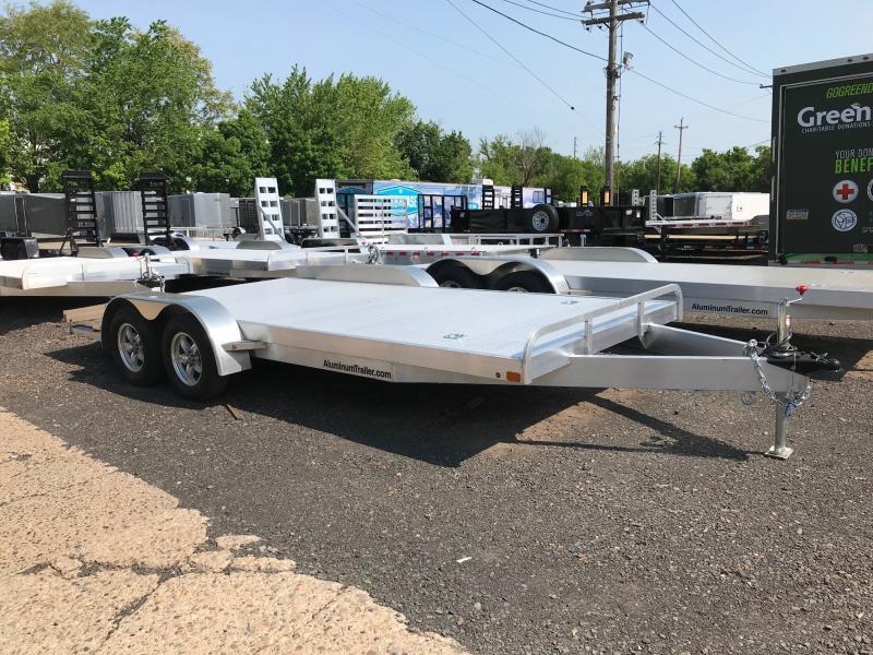 2018 Aluminum Trailer Company OCHAB8518+0-2T.35K Flatbed Trailer