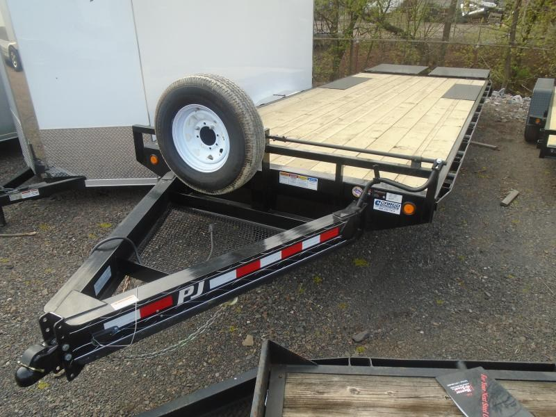 2019 PJ Trailers F8 24 DO Equipment Equipment Trailer