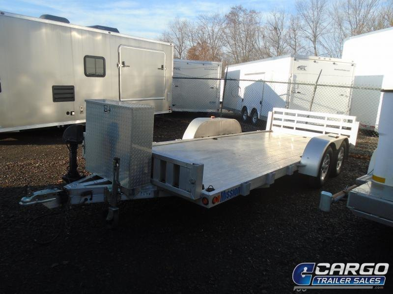 2013 Mission  Utility Trailer