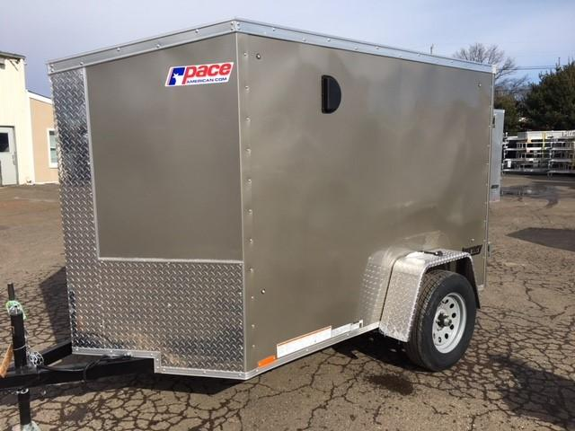 2018 Pace American JV 5x8 S12 Enclosed Cargo Trailer