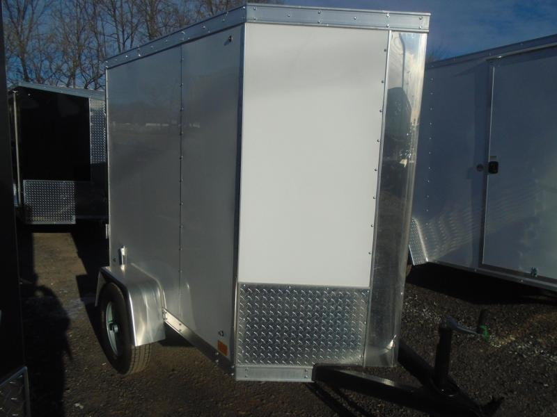 2019 Cross Trailers 4x6 Enclosed Cargo Trailer