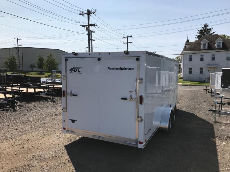 2018 Aluminum Trailer Company RAVAB7018 Snowmobile