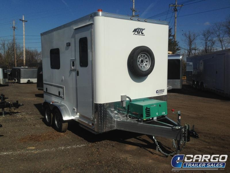 2019 Aluminum Trailer Company QSTAB7012+0-2T3.5K Enclosed Cargo Trailer