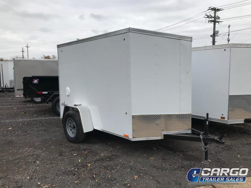 2018 Pace American OB 5x8 Enclosed Cargo Trailer