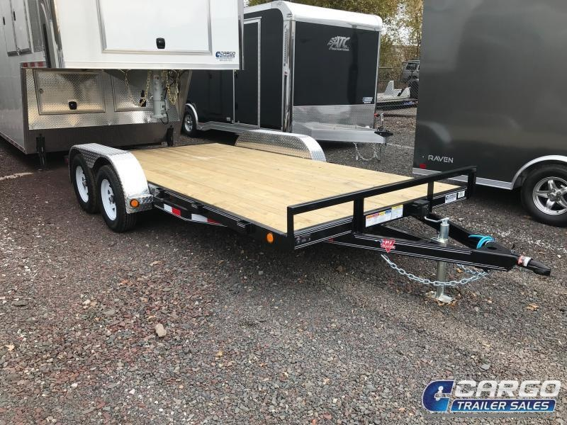 2019 PJ Trailers 16 C4 Car Hauler Flatbed Trailer