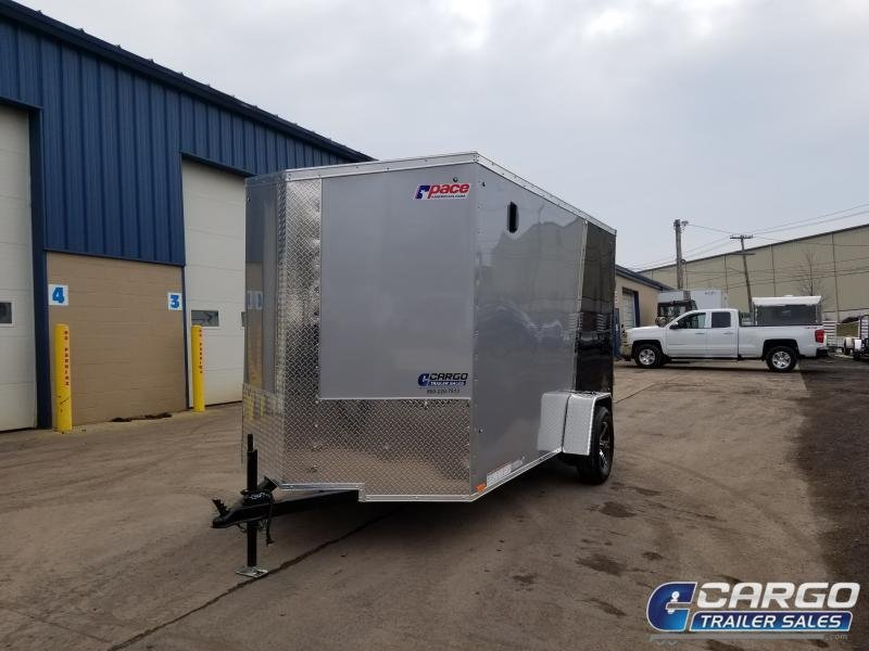 2019 Pace American JV 6X12 Enclosed Cargo Trailer
