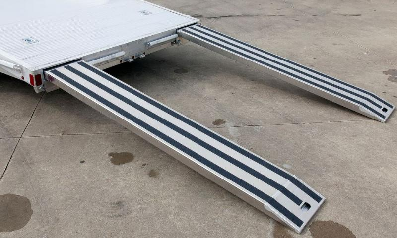 2018 Aluminum Trailer Company OCHAB8516+0-2T.35K Flatbed Trailer