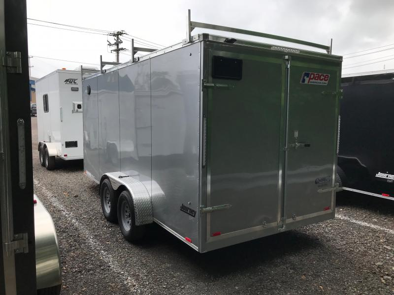 2018 Pace American JV 7x16 Enclosed Cargo Trailer
