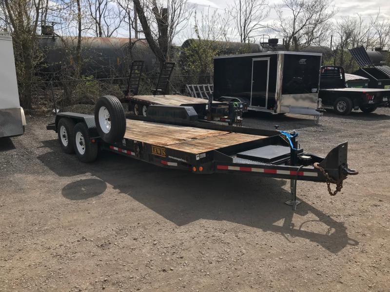 2018 CAM Superline Flatbed Trailer
