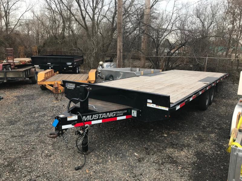 2016 Mustang Trailer 8523DO Flatbed Trailer