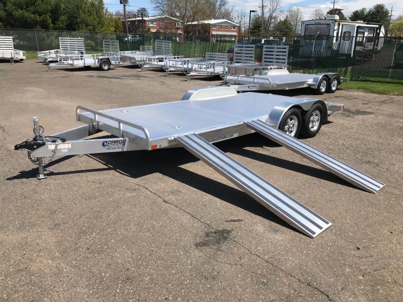 2018 Aluminum Trailer Company OCHAB8520+0-2S3.5K Flatbed Trailer
