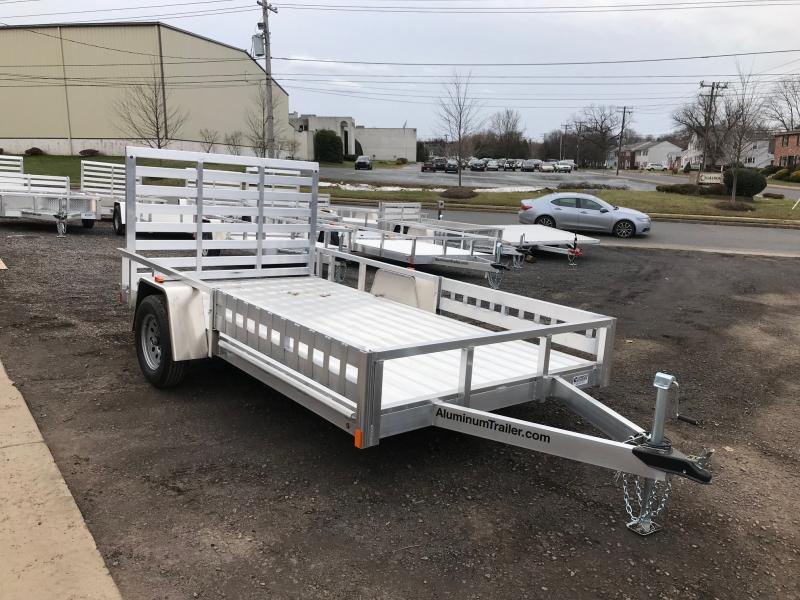 2018 Aluminum Trailer Company OUTAB7012 Flatbed Trailer