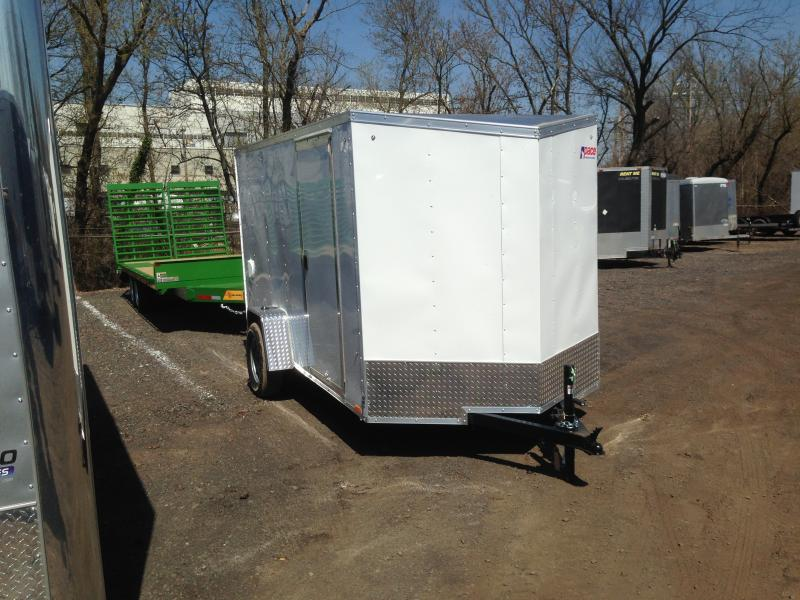 2019 Pace American OB 6X12 Enclosed Cargo Trailer