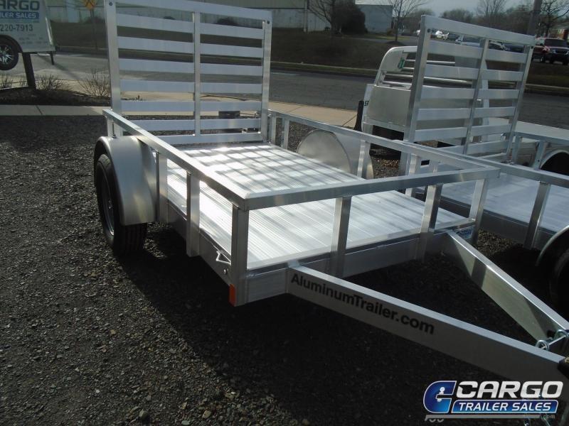 2018 Aluminum Trailer Company OUTAB5008 Flatbed Trailer