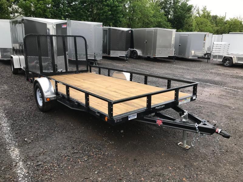 2019 PJ Trailers U8  83 X 14 Utility Trailer