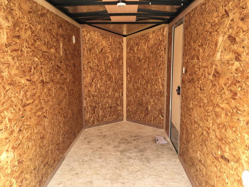 2020 Pace American JV5x10 Enclosed Cargo Trailer
