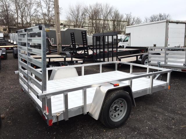 2019 Aluminum Trailer Company OUTAB6010 Flatbed Trailer