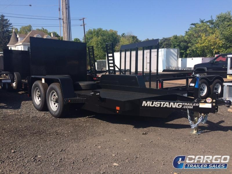 2019 Mustang Trailer 612MA9990G Flatbed Trailer