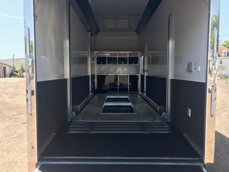 2018 Aluminum Trailer Company QSTAB8528+0-3T7.0K Enclosed Cargo Trailer