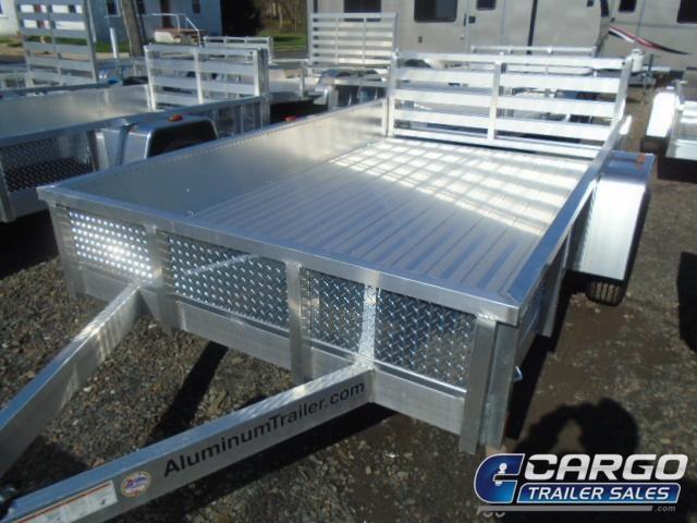 2019 Aluminum Trailer Company OUTAB5010 Flatbed Trailer