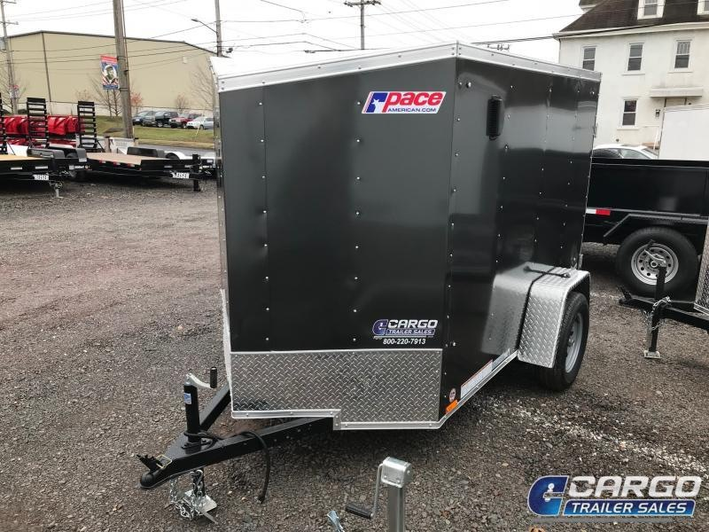 2019 Pace American OB 5X8 Enclosed Cargo Trailer
