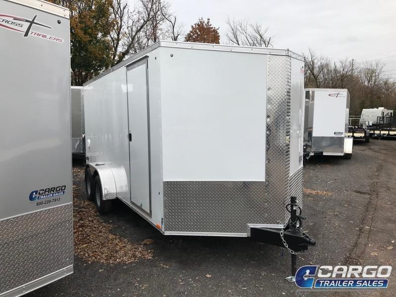 2018 Pace American JV 7X16 TE2 Enclosed Cargo Trailer