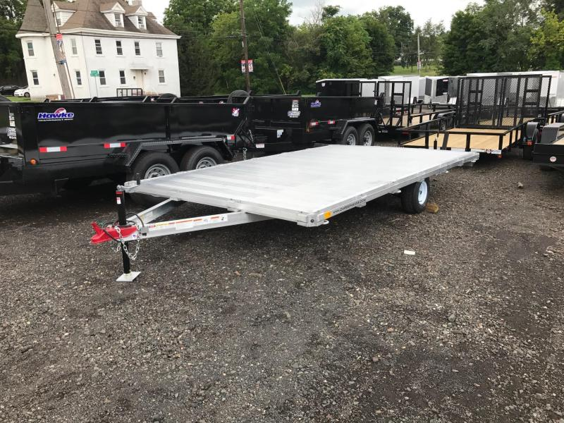 2017 SIC Metals 8.5X14 D/O ATV Flatbed Trailer