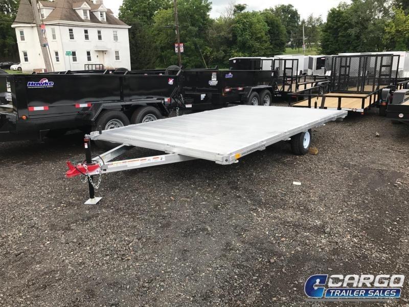 2018 SIC Metals 8.5X14 D/O ATV Flatbed Trailer