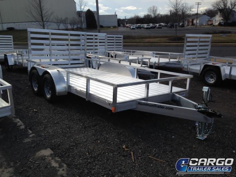 2019 Aluminum Trailer Company OUTAB7016+0-2T3.5K Flatbed Trailer
