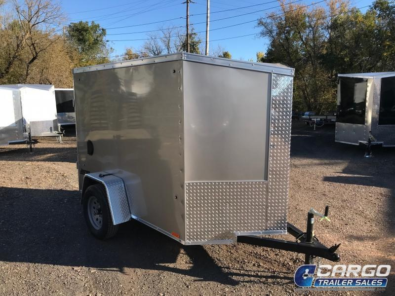 2019 Pace American JV 5x8 S12 Enclosed Cargo Trailer