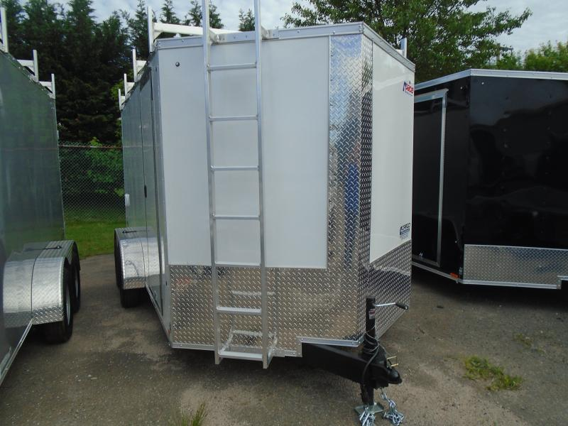 2020 Pace American JV 7 X 16 TE2 Enclosed Cargo Trailer