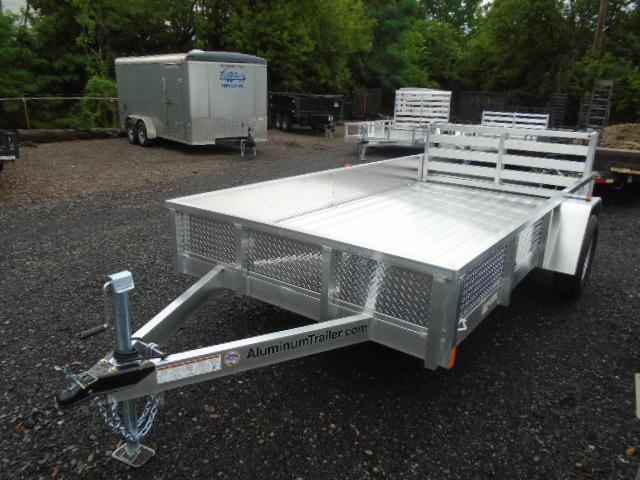 2019 Aluminum Trailer Company OUTAB6012 Flatbed Trailer