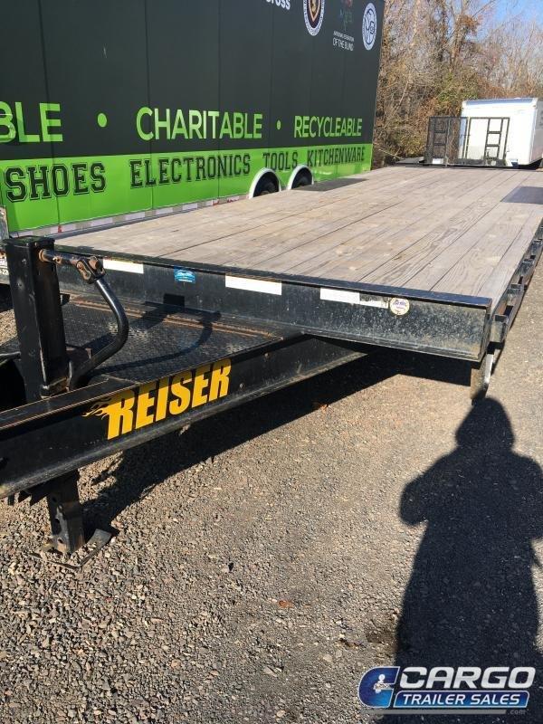 2017 Reiser DO823 Equipment Trailer in Ashburn, VA