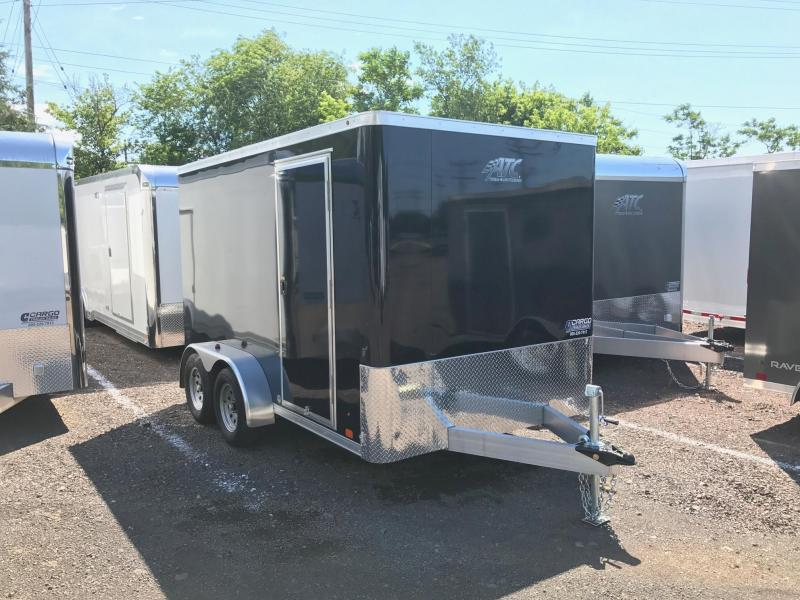 2017 Aluminum Trailer Company RAVAB7012+0-2S3.5K Enclosed Cargo Trailer