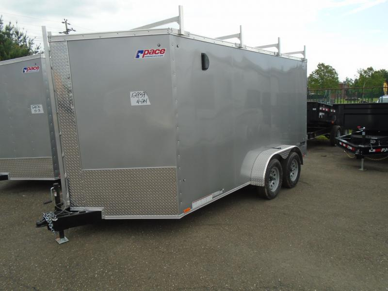 2020 Pace American JV 7 X 14 TE2 Enclosed Cargo Trailer